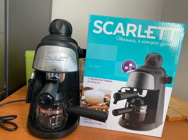 Продам кофеварку Scarlett SC - 037