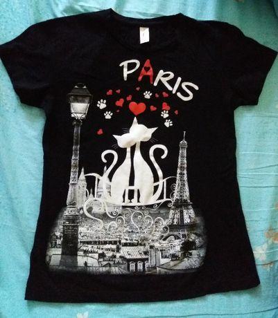 Tricou pisici Paris