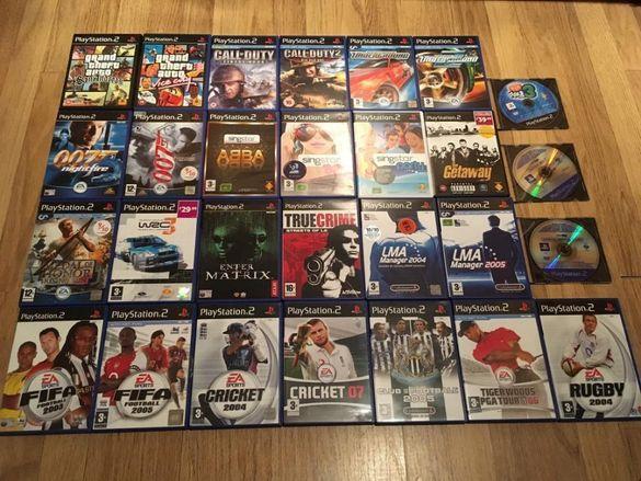 Оригинални Игри за Playstation 2 / PS2 / ПС2 - FIFA / PES / GTA +