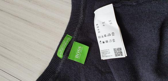 Hugo Boss Green C- Cecil Regular Fit Extrafine Lambs Wool Mens Size XL