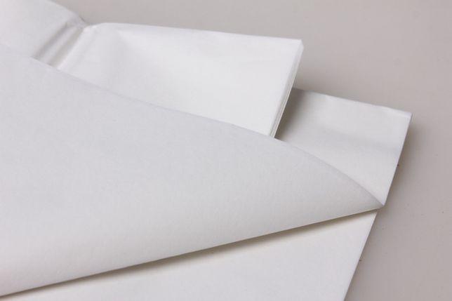Бумага тишью, tissue paper , (белая , черная ) 20 листов, 50х65