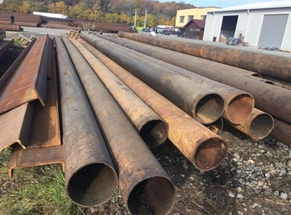 Teava metalica recuperata trasa 323,9X8, 324X8, 324X10, 323,9X10,300X8 Focsani - imagine 1