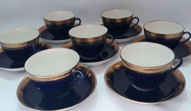 Продам фарфоровые чайные пары ЛФЗ