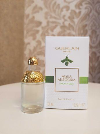 Guerlain Aqua Allegoria Limon Verde 7.5 ml (трэвел, пробник, тестер)