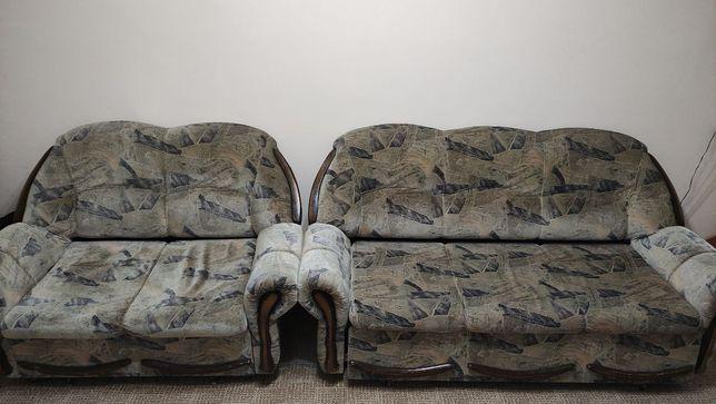 Дарю диваны + кресло б/у. Отдам даром, бесплатно