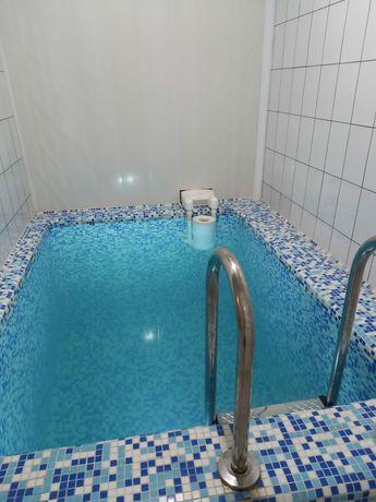 Семейная баня в 11 мкр-не! Мокрый, сухой пар! Бассейн. Жареная рыба.