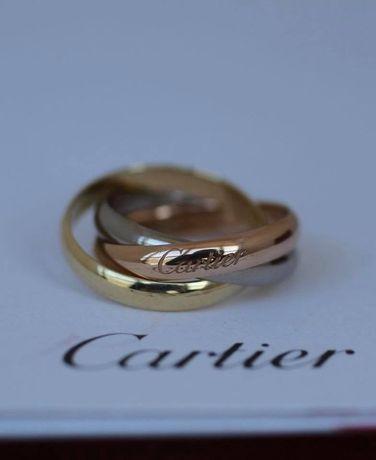 Позлатени пръстени Cartier