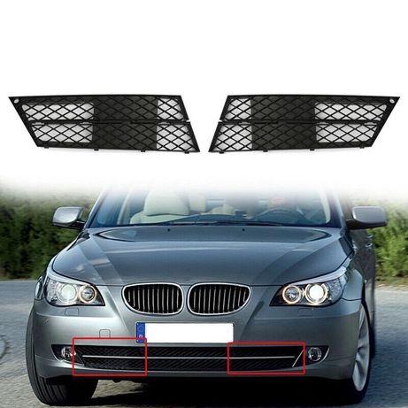 BMW E60 E61 Решетка лява дясна предна броня капак бмв е60 е61