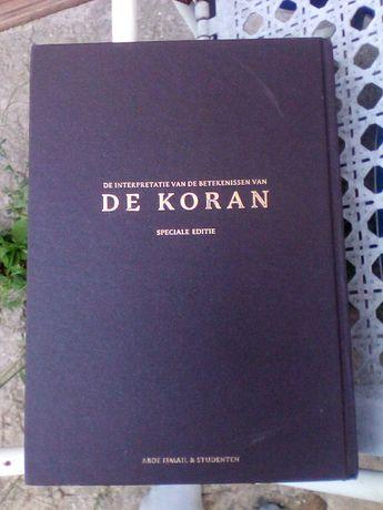 Coran ,limba araba/olandeza de Aboe Ismail/editie speciala