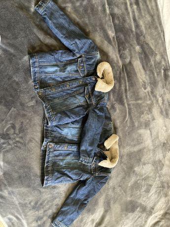 Куртки джинсовые утепленные
