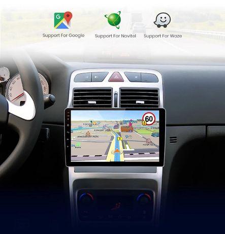 Sistem de Navigatie Peugeot 307, Android,Bluetooth,Garantie