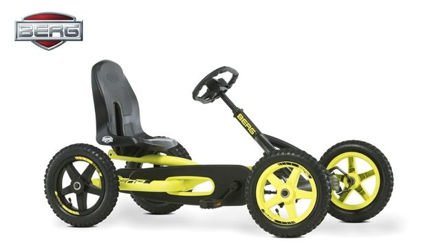 Kart / cart cu pedale pentru copii 3 - 8 ani. BERG Buddy Cross.