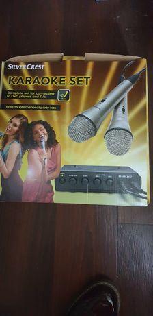 Vand set karaoke Silver Crest