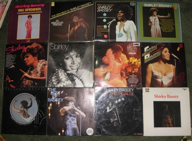 vinil 12 LP x25 lei Shirley Bassey– What Now My Love,All Of Me + best