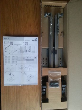 Продавам механизъм за чекмеджета Hettich Actro 5D 40kg 550mm 9203421