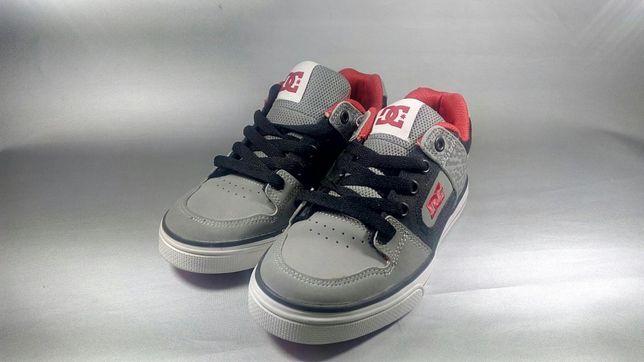 Dc shoes nr 32 noi piele original adidași