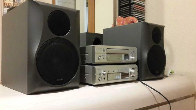 Стерео комплект DENON DRA-F101 DRR-F101 + Denon SC-M07