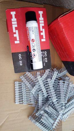 Hilti Хилти GX100 GX120 GX3 газ пирони бетон метал 14,17,20,27,32,39