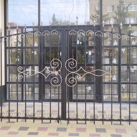 Ворота откатные, кованные,навесы, гараж, ангары, павильоны