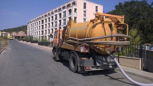 Почистване на септични ями, отпушване на канали и видео наблюден на кн