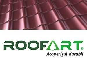 Tigla metalica Roofart Suedia, SSAB/ Tabla acoperis Wetterbest/ sipca