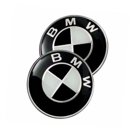 Emblema Logo Capota Portbagaj 82mm 74mm BMW E90 E91 E92 F10 F30 F01