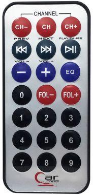 Telecomanda compatibila cu modulator fm, mp3/mp4 player