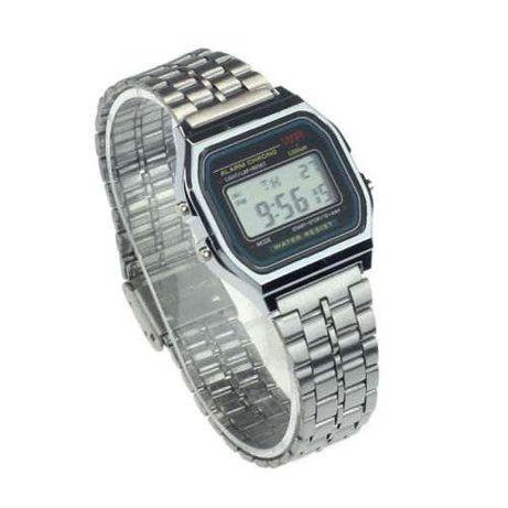 Нови електронни часовници и кварцови със силиконови каишки