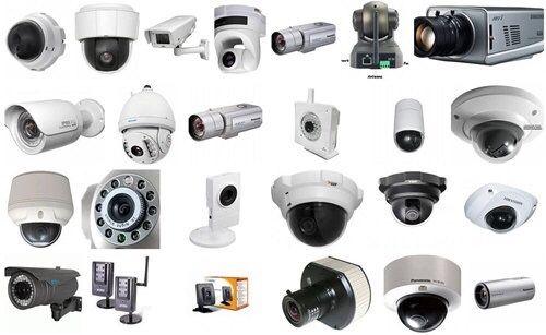 Установка камер видеонаблюдения и охранно-пожарной сигнализации