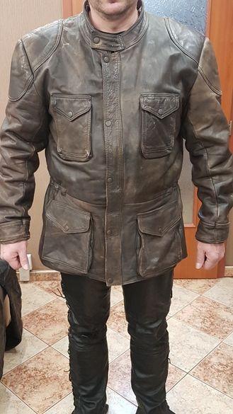 Рокерски кожени дрехи