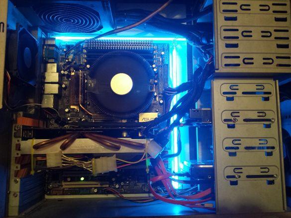 Продавам настолно PC AMD Athlon 64 X2 5200+ 2.6Ghz , 4GB RAM