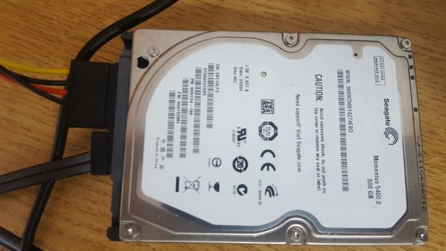 HDD Sata Laptop 500 GB Seagate 93%