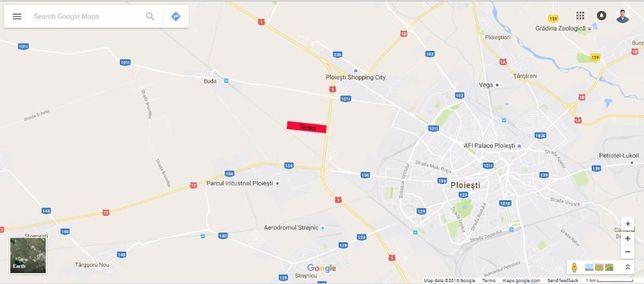 Teren 6.5 ha Prahova centura Ploiesti Vest