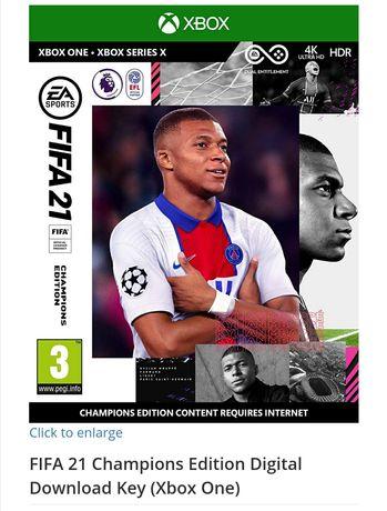 Fifa 2021 Champions Edition XboX