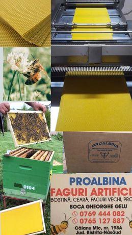 Faguri artificiali din ceara de albine