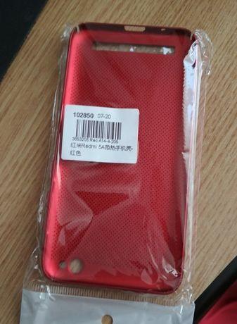 Husa rosie sigilata Xiaomi redmi 5A