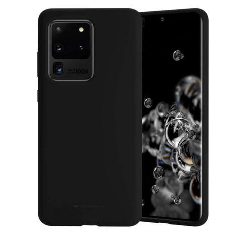 Черен силиконов калъф за Samsung Galaxy S20/Plus/Ultra/S10/e/S9/PLus