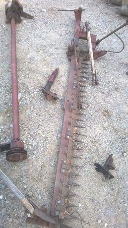 coasa tractor 650 intre roti