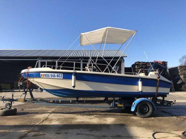 Vand barca open Rio 500 Class - motor Mercury 40 cp
