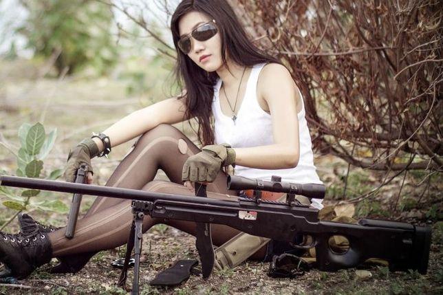 Pusca Airsoft Mauser L9 (Black) Sniper/Propulsie ARC/ 3,8 Jouli Pistol