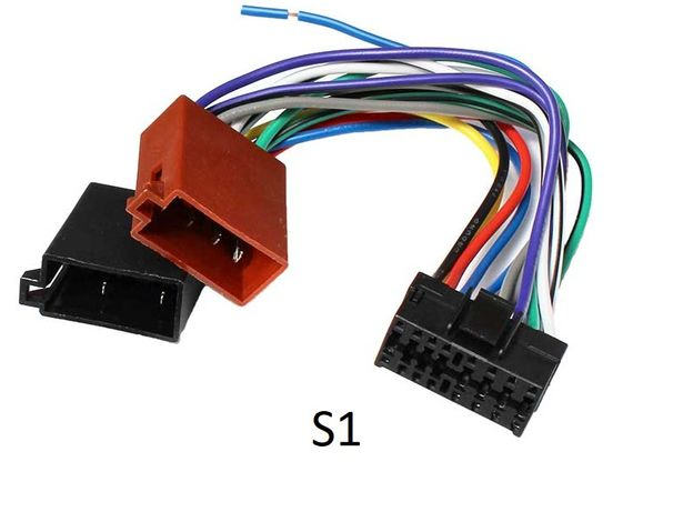 mufa conector auto ISO Sony 16 pini mufa sony 16pini mufa alimentare