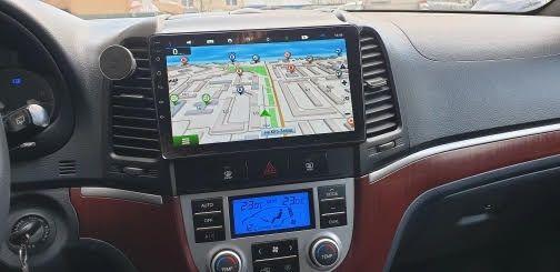Sistem de Navigatie Hyundai Santa Fe,Android , Wi-Fi, Android,Garantie