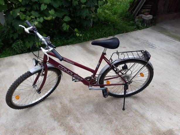 bicicleta dama cu diman