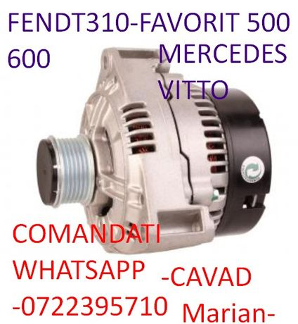 Alternator nou tractor FENDTserii Vario, Favorit 500,600John DEERE