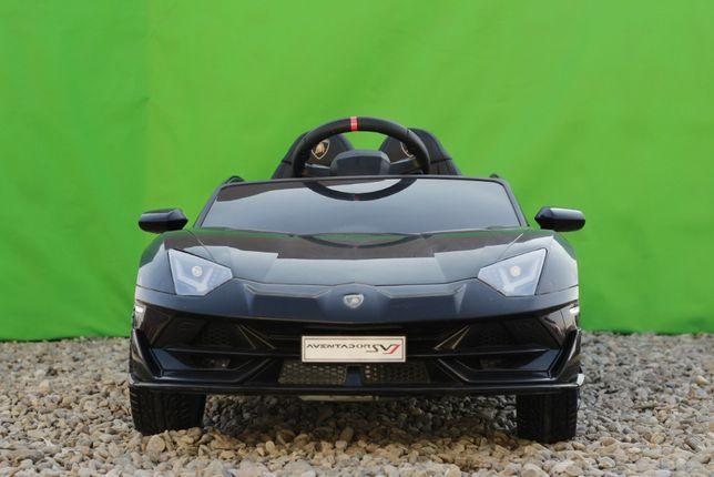 Masinuta electrica Kinderauto Lamborghini Aventador SVJ PREMIUM #Negru