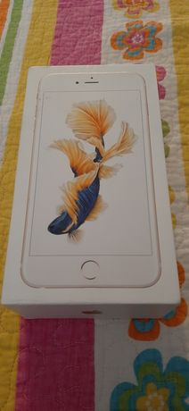 Cutie iphone 6S+ si casti originale