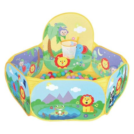 Piscină cu bile gonflabile pentru copii - Fisher Price