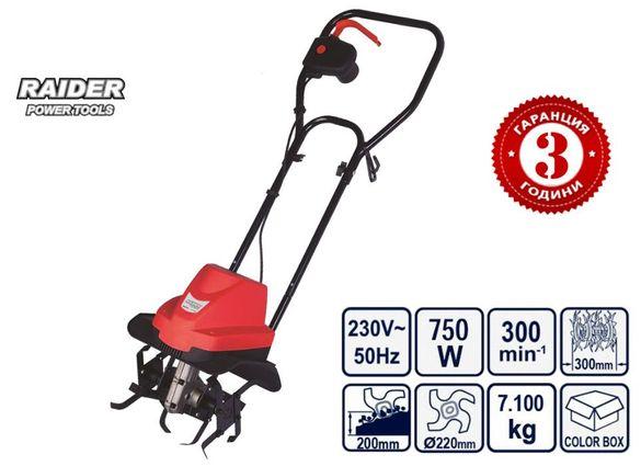 Електрическа фреза 750w RAIDER RD-ET01J - 3 години гаранция