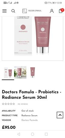 Radiance serum 30 ml.