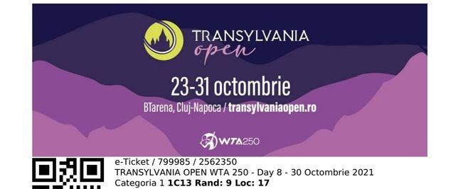 Bilete la Transylvania WTA